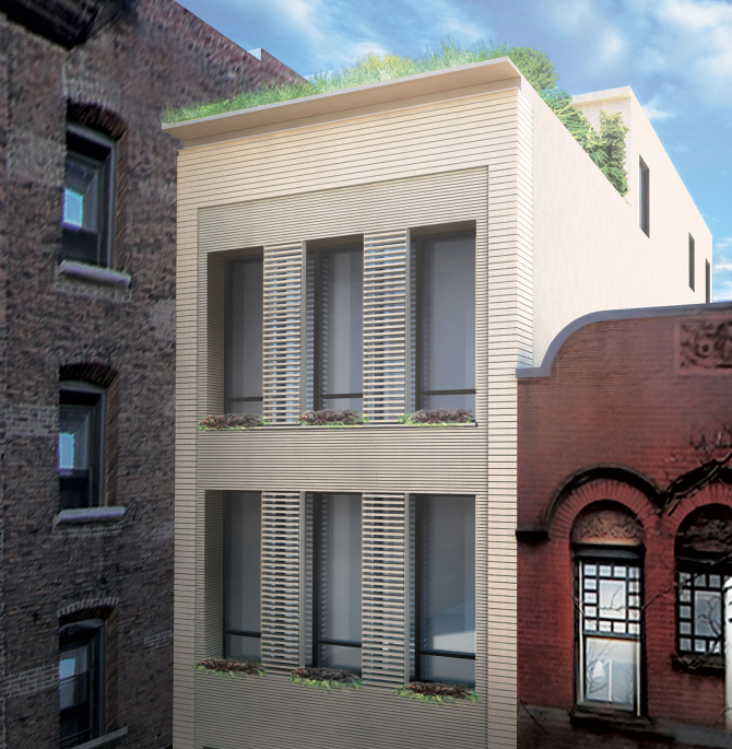 Separate Garage Block Possibly With Studio Accommodation: 110W88 Townhouse