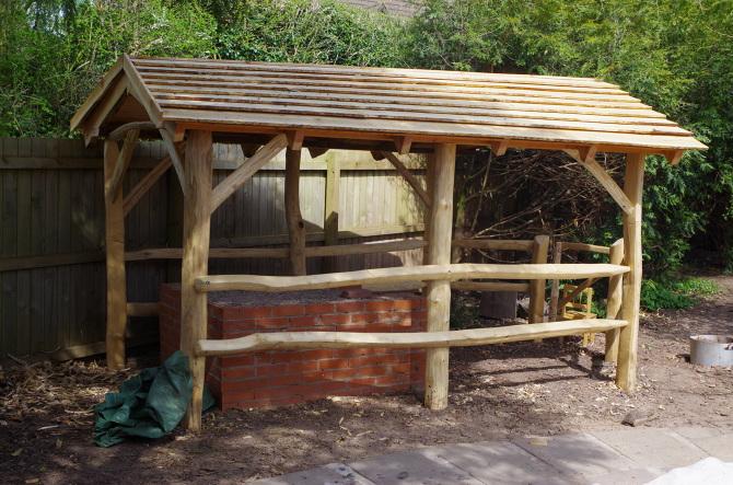 Roundwood Timber Framing Sylvan Structures