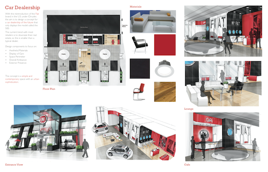 Car Dealership Sales Office Design