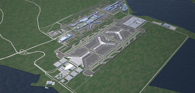 Singapore Changi International Airport, Land Use Study
